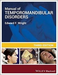 کتاب الکترونیکی راهنمای اختلالات گیجگاهی فکی رایت Manual of Temporomandibular Disorders 3 ED