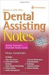کتاب الکترونیکی Dental Assisting Notes: Dental Assistant's Chairside Pocket Guide